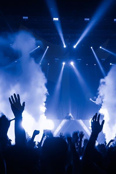 publico concierto djs